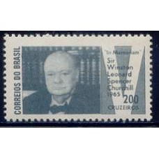 C-532- SELO IN MEMORIAN SIR WINSTON CHURCHILL - 65 - MINT